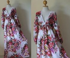 Image result for long sleeve floral maxi dress