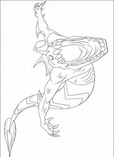 ben 10 alien force swampfire coloring page | free printable ... - Ben Ten Alien Force Coloring Pages