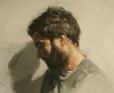 Kai, Fine Art Print of Oil Painting Portrait