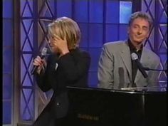 Bette Midler and Barry Manilow  - Friends (video)--Barry and Bette--friends back to the days of the Continental Baths, NYC, together again