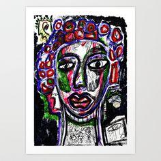 La Reina del Mambo Art Print by ALOU - $12.48