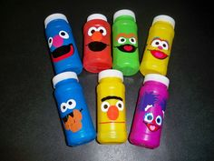 SESAME STREET BIRTHDAY party favor bubbles