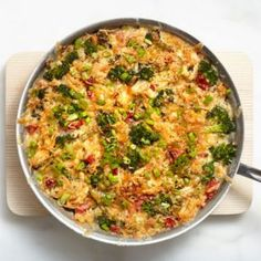 Chicken and Rice Casserole (it would be easy to make a lighter version)