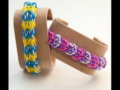 Wie erstelle ich ein Rainbow Loom Delta Wing Armband | Rainbow Loom Anleitungen