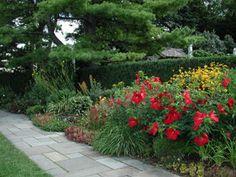 front raised garden idea