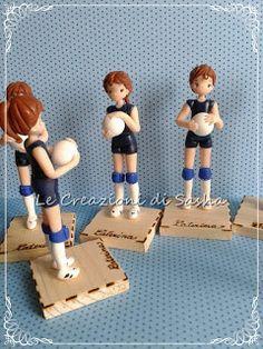 Le Creazioni di Sasha: Bomboniere Pallavolo - giocatrici