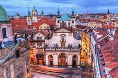 View from the Charles Bridge tower, Prague (by Miroslav Petrasko (blog.hdrshooter.net))