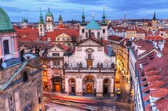 View from the Charles Bridge tower, Prague (by Miroslav Petrasko)