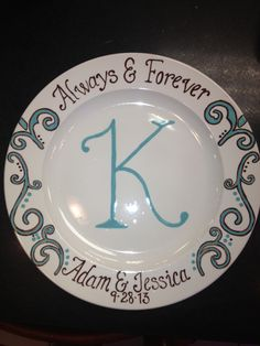 Cool plate made at DIO Pottery Plates, Ceramic Plates, Sharpie Plates, Sharpies, Pottery Painting Designs, Paint Designs, Pottery Designs, Painted Plates, Painted Pottery