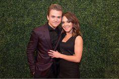 "bookingmyselfaonewayflight: ""Hunter and Libby at the BMI Country Awards. """