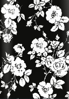 Dolce s clothing collection winter 2016 floral darkfloral surfacedesign - b Textile Patterns, Textile Prints, Print Patterns, Textiles, Art Prints, Grunge, Black And White Prints, Black White, Surface Pattern Design