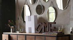 Ma collection de miroirs rase les murs