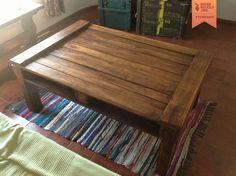 Mesa de madera reciclada!!