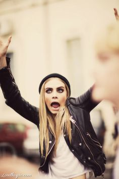 Cara Delevigne girly cute photography blonde hipster face cara delevigne