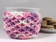 KNITTING PATTERN Cozy Cup Coffee  Sweet Morning by LiliaCraftParty