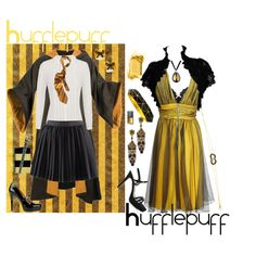 Hufflepuff, created by infracti-angelus on Polyvore