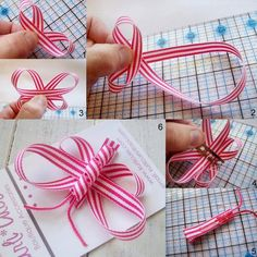 DIY Ribbon Butterfly | Casual Crafter