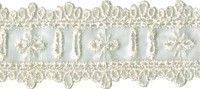 1 1/4'' Ivory Organza Beading Lace Pride And Prejudice, Lace Trim, Beading, Ivory, Beads, Pearls, Lace Overlay, Beaded Embroidery