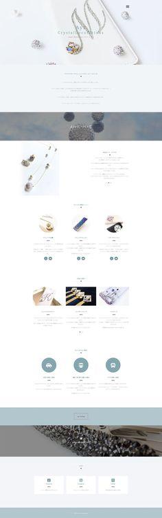 1ページもののWebサイトのサンプルページです。 「大がかりなホームページはまだちょっと…」と思われる女性起業家さんが「初めて持つホームページ」としてぴったりな、Web名刺のような1ページです。 It Works, Nailed It