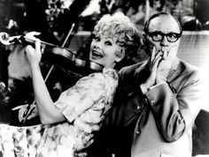 Lucille Ball and Jack Benny I Love Lucy Show, Jack Benny, Lucille Ball, Old And New, Movie Tv, Couple Photos, Pictures, Couple Shots, Photos