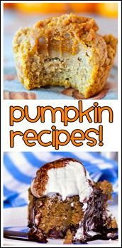 Favorite Healthy Pumpkin Recipes (on chocolatecoveredkatie.com). You can bet I'll be making some of these this fall!