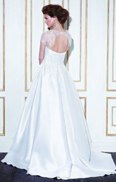 Blue by Enzoani wedding dress with oval back