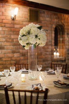 Tall Centerpieces Wedding Flowers Photos on WeddingWire