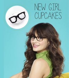New Girl Cupcakes (Inspired By Zooey Deschanel) For Season 3 Premiere!