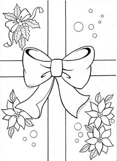1 Free Christmas Coloring Pages, Christmas Coloring Sheets, Cute Coloring Pages, Coloring Book Pages, Christmas Stencils, Christmas Templates, Christmas Colors, Christmas Crafts, Christmas Carnival
