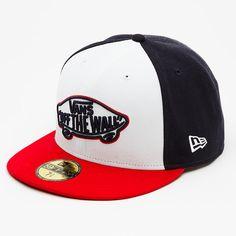 834165ccde Vans Home Team New Era Hat Fitted Baseball Caps