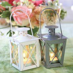 Luminous Mini-Lantern Wedding Favor | #exclusivelyweddings | #beachwedding