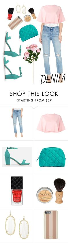 """Untitled #162"" by cool-ylichk ❤ liked on Polyvore featuring BLANKNYC, Puma, JustFab, Vera Bradley, Gucci, Kendra Scott and Michael Kors"