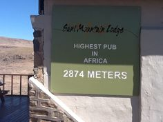 Sani Pass Highest Pub In Africa Bistros, My Land, South Africa, Growing Up, Birth, Tours, Holidays, Places, Holidays Events