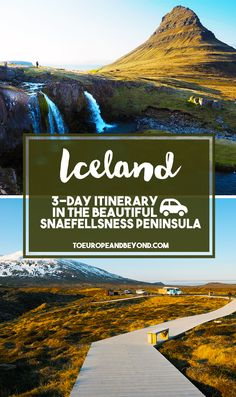 A lot of people describe the Snaefellsness Peninsula as a mini version of Iceland, for it encompasses everything that makes Iceland so special: dramatic coastlines, lava fields, waterfalls, glaciers, and lunar-like landscapes http://toeuropeandbeyond.com/west-iceland-snaefellsness-peninsula-5-places-cant-miss/ #travel #Iceland