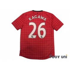 Manchester United Home Shirt Kagawa BARCLAYS PREMIER LEAGUE Patch/Badge w/tags nike Premier League Football Shirts,Soccer Jersey, Classic,Vintage,Retro and rich assortment is the online shop Footuni Japan. Manchester United Premier League, Manchester United Shirt, Vintage Football Shirts, Vintage Jerseys, Soccer Shirts, Football Jerseys, Nike Football, Shinji Kagawa, Badge