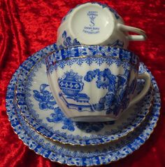 Tuppack Tiefenfurt China Blau / blue / bleu