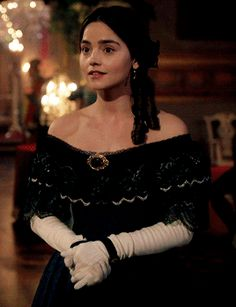 favorite victoria costumes ▷ episode: the green-eyed monster Victoria Show, Victoria 2016, Queen Victoria, Victoria Costume, Green Eyed Monster, Jenna Coleman, Prince Albert, British Actresses, Just Girl Things