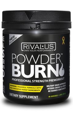 RIVALUS POWDER BURN Think Fast, Berries, Fitness Motivation, Health, Food, Powder, Products, Meal, Fit Motivation