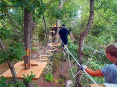 The Adventure Park At Sandy River Retreat - Farmville, High Ropes Course, Zip Lining VIRGINIA  61 obstacles