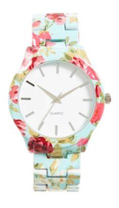 cute floral watch http://rstyle.me/n/w24ihr9te
