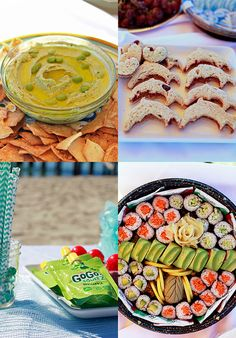 beach themed party food - Google Search