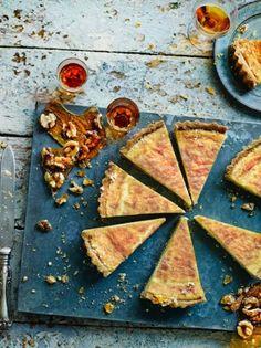 Pecan & Buttered Rum Pie | Jamie Oliver