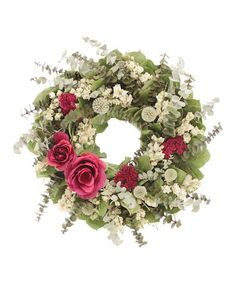 Another great find on #zulily! Spring Walk Wreath by Floral Treasure #zulilyfinds