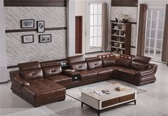 Living Room Sofa Design, Modern Leather Sofa, Sofas, Couch, Furniture, Home Decor, Couches, Decoration Home, Room Decor