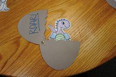 Dinosaur storytime stuff.