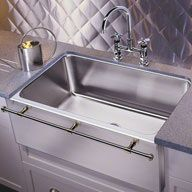 Amazing KOHLER Strive 18.25 In X 32 In Stainless Steel 1 Stainless Steel Undermount  (Customizable) Hole Residential Kitchen Sink | Undermount Kitchen Sink, ...
