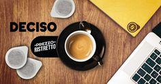 Un caffè intenso, appagante e con la giusta nota di acidità... in una parola: DECISO! Un'antica ricetta dei Maestri Torrefattori Napoletani per gli amanti dell'espresso italiano ricco e cremoso. Disponibile in cialde ecologiche. Anche in capsule per sistema Nespresso, Lavazza Espresso Point, Lavazza A Modo Mio, Lavazza Blue.