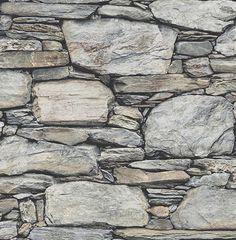 Stone Wall Grey Historic 2701-22304 wallpaper