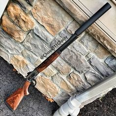Big Horn Armory Model 89, chambered in 500 S&W Magnum with a Bowers VERS50 Suppressor Find our speedloader now! http://www.amazon.com/shops/raeind