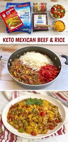 #BestLowCarbMeals Healthy Low Carb Recipes, Low Carb Dinner Recipes, Keto Dinner, Dinner Healthy, Healthy Quick Meals, Healthy Foods, Mexican Beef Casserole, Keto Casserole, Casserole Recipes